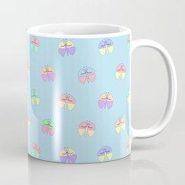 Whimsical Butterfly Pattern Coffee Mug