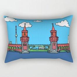 Oberbaum Bridge in Berlin Rectangular Pillow