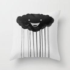 dark cloud Throw Pillow