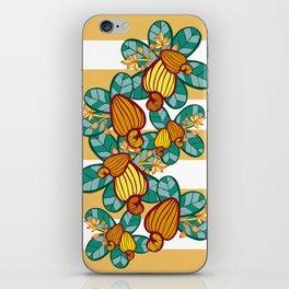 Orange Cashew Apple iPhone Skin