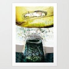 vitriol 5 Art Print