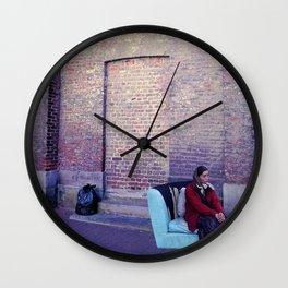 Trash  Wall Clock