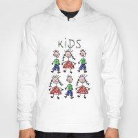 kids Hoodies featuring Kids by Digital-Art