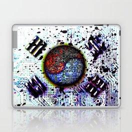 in to the sky, circuit board (south korea) Laptop & iPad Skin