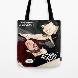 MURDER STORIES Tote Bag
