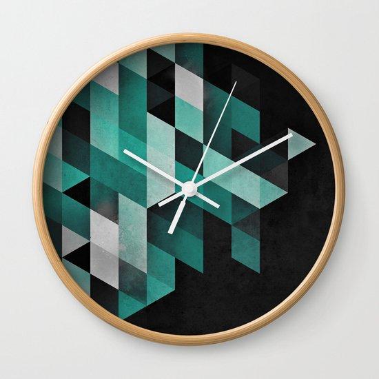 dryma mynt Wall Clock