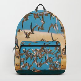 painting panoramic landscape of Brazil Backpack