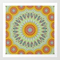sun Art Prints featuring Sun by David Zydd