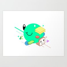 Tasty Visuals - Sandwich Time (No Grid) Art Print