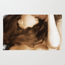 The Kiss by Mary Bassett Rug