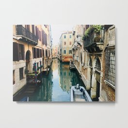 Canals of Venice VII Metal Print