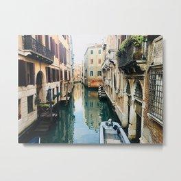 Canals of Venice VII Metal Print