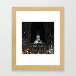 Philadelphia, City Hall Framed Art Print