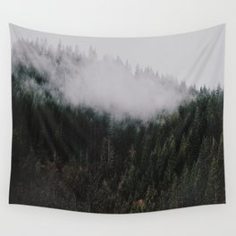 Forest Fog IV Wall Tapestry