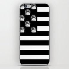 US Minifigure Flag - Horizontal iPhone & iPod Skin