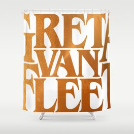 Greta Van Fleet Shower Curtain