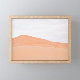 Desert Abstract - Sahara, Morocco Framed Mini Art Print