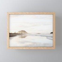 Mount Maunganui Framed Mini Art Print