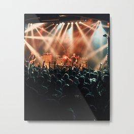 Alkaline Trio Live Metal Print