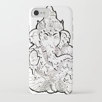ganesha iPhone & iPod Cases featuring Ganesha by Sofia Bernikova