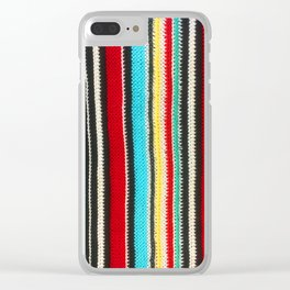 sasazuka knit Clear iPhone Case