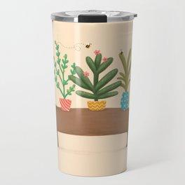 Dachshund & Parrot Travel Mug
