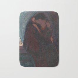 The Kiss - Edvard Munch Bath Mat
