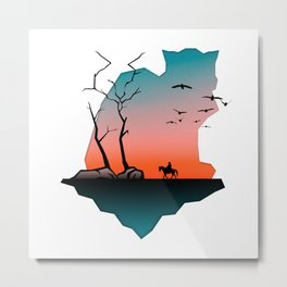 The Mysterious Island Metal Print
