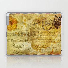 Postcard Lettre 5 Laptop & iPad Skin
