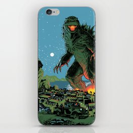 Godzilla - Blue Edition iPhone Skin