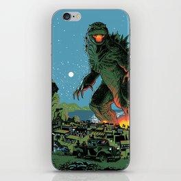 Godzilla - Blue Edition iPhone Skin