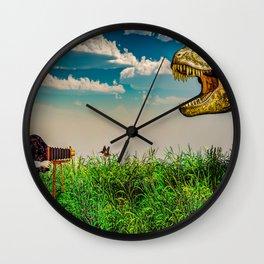 Wildlife Photographer Photo Bomb Wall Clock
