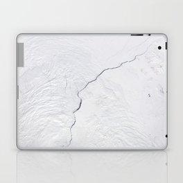 Open water lead above Canada, Arctic Ocean Laptop & iPad Skin