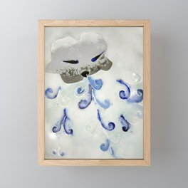 Creature of Air (The North Wind) Framed Mini Art Print