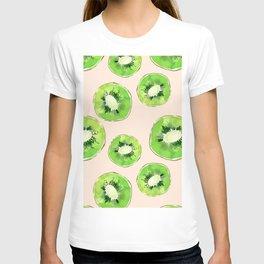 Kiwis pattern T-shirt