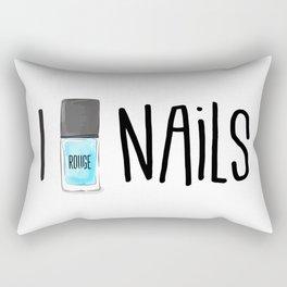 love manicure Rectangular Pillow