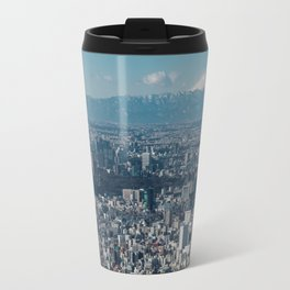 The city of Tokyo Travel Mug