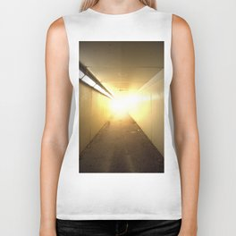 Light at the End of the Tunnel Biker Tank