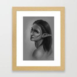 Inquisitor Moirin Framed Art Print