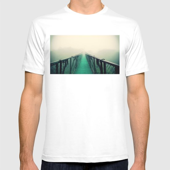 suspension bridge T-shirt
