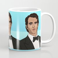 napoleon Mugs featuring Napoleon Solo by Grace Teaney Art