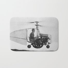 Gyrocopter Bath Mat