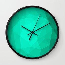 Geometric Polygonal Pattern 01 Wall Clock