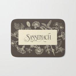 Sassenach in Sepia Bath Mat