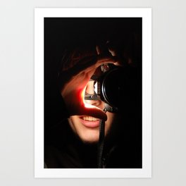How the World Looks at Me. Art Print