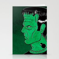 frankenstein Stationery Cards featuring Frankenstein by JoanaRosaC