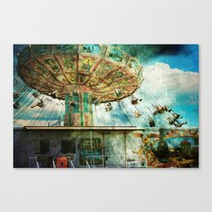 Dear mom...I joined the circus Canvas Print