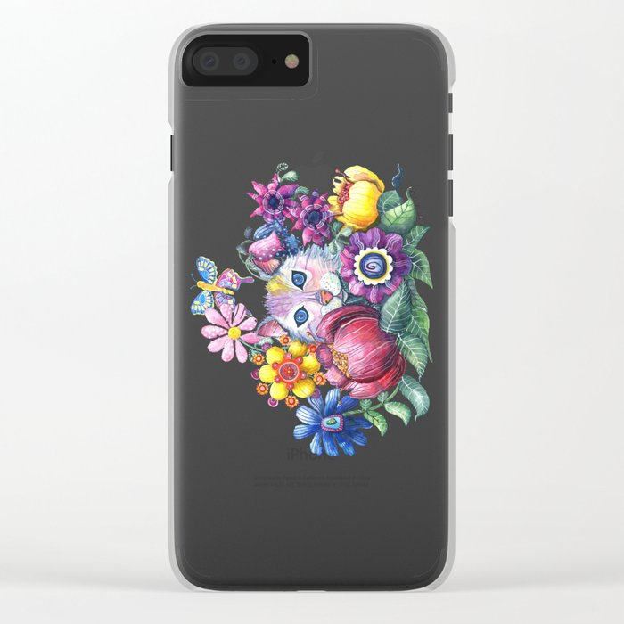 Camouflaged Clear iPhone Case
