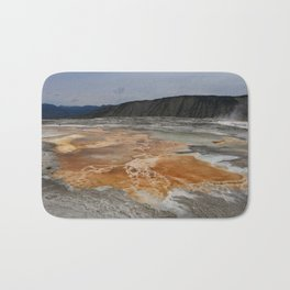 Mammoth Hot Spring Colors Bath Mat