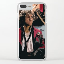 Enjolras 2 Clear iPhone Case